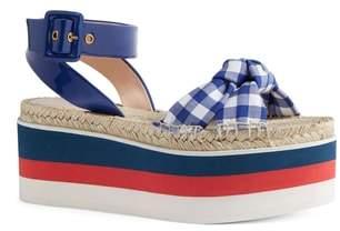 Gucci Sefir Flatform Sandal
