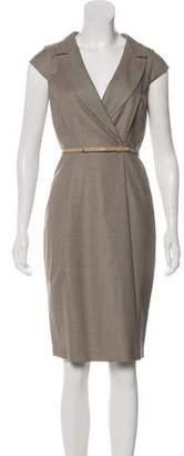 Max Mara Virgin Wool Midi Dress w/ Tags