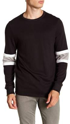 Alternative Jersey Colorblocked Crew Pullover