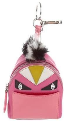 33fe6feeb451 Fendi Micro Monster Backpack Charm