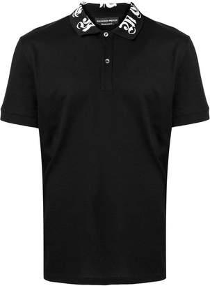 Alexander McQueen logo collar polo shirt