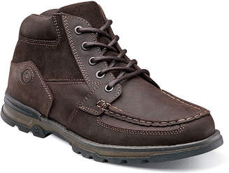 Nunn Bush Pershing Men's Moc Toe Casual Boots