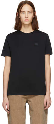 Acne Studios Black Ellison Face T-Shirt
