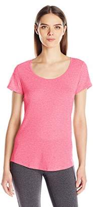 Lucy Women's Short Sleeve Workout Tee $27.99 thestylecure.com