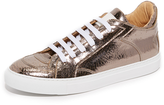 MM6 Low Top Sneakers $395 thestylecure.com