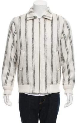 Saturdays New York City Wool-Blend Striped Jacket
