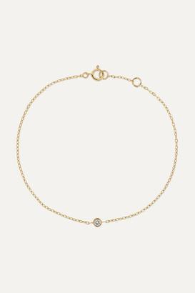 STONE AND STRAND - 14-karat Gold Diamond Bracelet