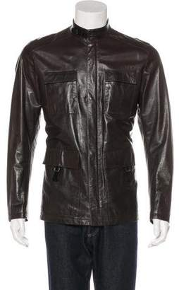 Prada Leather Field Jacket
