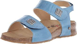 Haflinger Women's TS Bella Capri BLU Flat Sandal