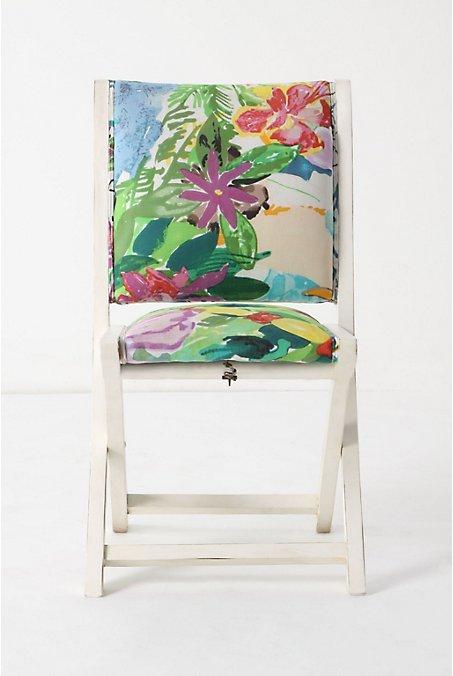 Terai Chair, Kerala Floral