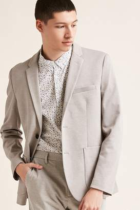 Forever 21 Textured Single-Breasted Blazer