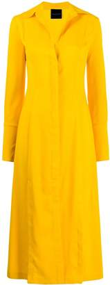 Cavallini Erika long shirt dress