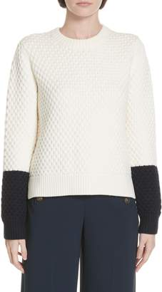 Tory Burch Honeycomb Knit Sweater