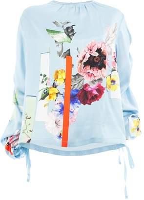 Preen by Thornton Bregazzi Sketchbook floral print blouse