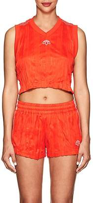adidas by Alexander Wang Women's Crinkled Jersey Tank