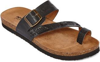 ARIZONA Arizona Sardinia Womens Flat Sandals $55 thestylecure.com