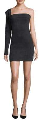 Hudson Baja East Contour One-Shoulder Mini dress