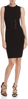 John & Jenn John + Jenn Corset Bodycon Knit Dress