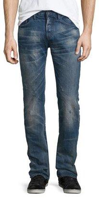 PRPS Demon Distressed Jeans, Blue $275 thestylecure.com