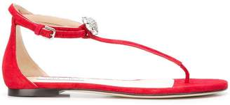 Jimmy Choo Afia flat sandals