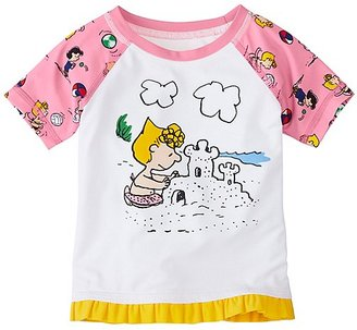 Peanuts Toddler Sun-Ready Rash Guard $30 thestylecure.com