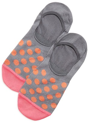 Paul Smith Bright Spot No Show Loafer Socks $20 thestylecure.com