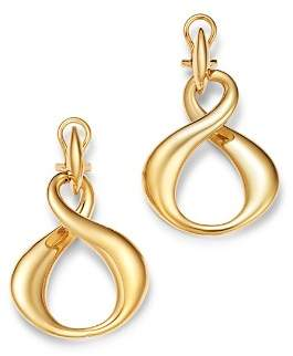 Bloomingdale's Infinity Drop Earrings in 14K Yellow Gold - 100% Exclusive