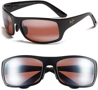 Maui Jim 'Haleakala - PolarizedPlus(R)2' Polarized Wrap Sunglasses