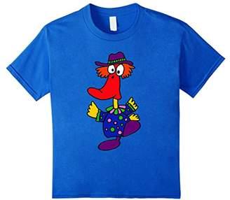 Smiletodaytees Funny Dancing Duck Clown Cartoon T-shirt