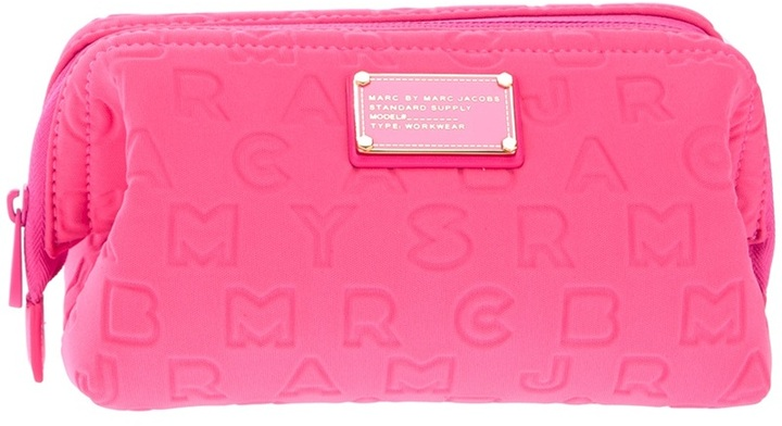 Marc by Marc Jacobs 'Big Bliz' embossed cosmetic case