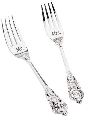 Lillian Rose Mr. and Mrs. Silver Fork Set