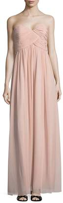Donna Morgan Women's Laura Solid Strapless Gown