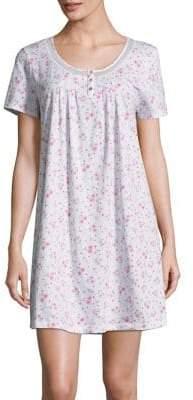 Carole Hochman Printed Cotton Nightgown