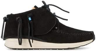 Visvim Black FBT veggie sneakers