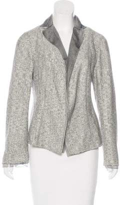 Akris Silk-Blend Patterned Blazer