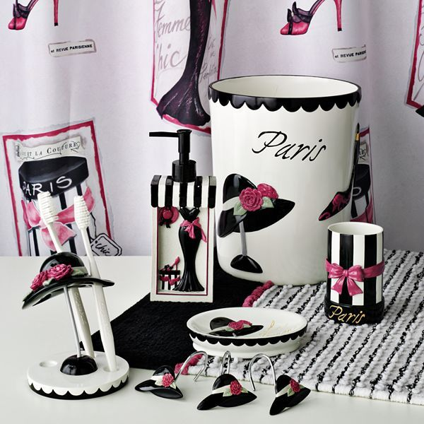 La femme chic bath accessories