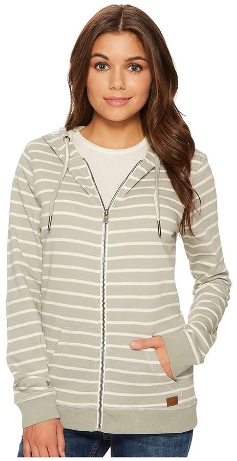 Roxy - Trippin Stripe Fleece Top Women's Clothing