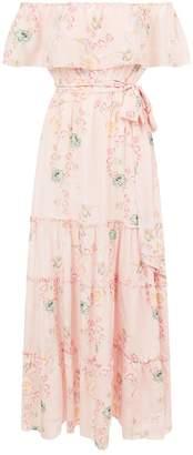 Athena Procopiou Careless Whisper Floral Maxi Dress