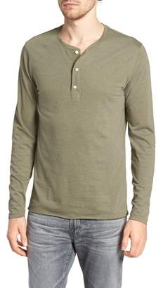 Billy Reid Hartford Slim Fit Henley
