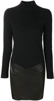 Barbara Bui contrast material dress