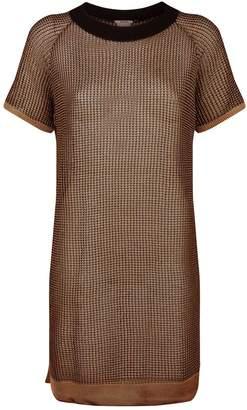 Wolford Macro Fish Scale Tunic Dress