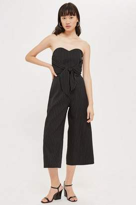 Love **Sara Tie Front Jumpsuit by