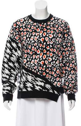 Opening Ceremony Intarsia Knit Sweater