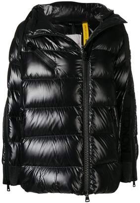 Moncler Liriope shiny puffer jacket