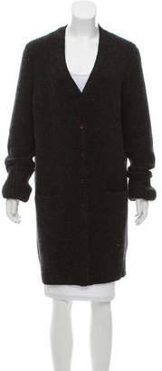 Christian Dior Longline Cashmere Cardigan