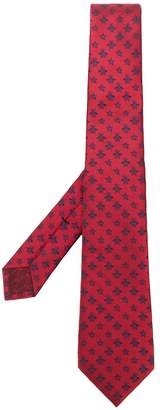 Gucci bee and star embroidered tie