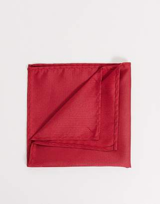 Twisted Tailor pocket square in red
