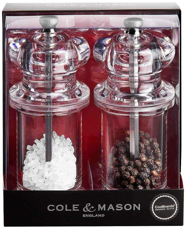 505 Clear Precision Salt And Pepper Mill Gift Set