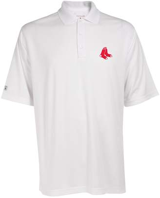 Antigua Men's Boston Red Sox Exceed Performance Polo