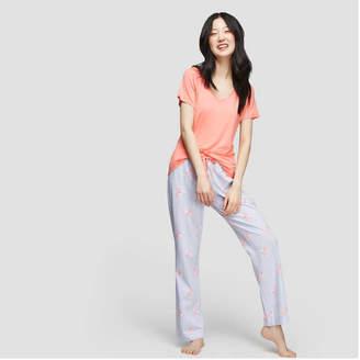 Joe Fresh Women's Short Sleeve Raglan Sleep Tee